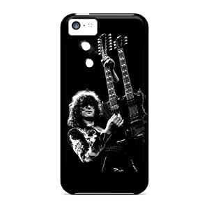 DrawsBriscoe Iphone 5c Perfect Hard Phone Covers Unique Design High Resolution Led Zeppelin Jimmy Page Skin [cXR13197Wyiw]