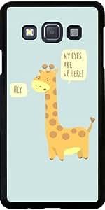Funda para Samsung Galaxy A3 (SM-A300) - Problemas Jirafa! - Azul Claro by AnishaCreations