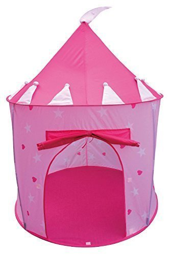 Princess Castle Fairy House Girls Pink Play Tent by POCO DIVO