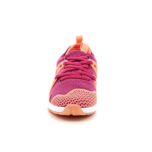 Clarks Luminousglojnr, Sneakers Basses Fille Rose