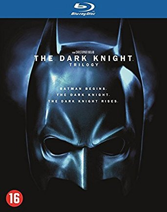 The Dark Knight - Trilogy - 5-Disc Box Set ( Batman Begins / The Dark Knight / The Dark Knight Rises ) [ Blu-Ray, Reg.A/B/C Import - Netherlands ]