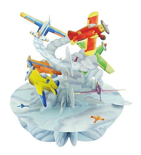 Santoro Pirouettes Planes 3D Pop up Card ()