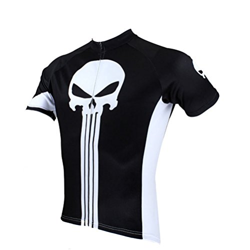Uriah Men's Cycling Jersey Short Sleeve Punisher Size - Size Cycling Jersey 4