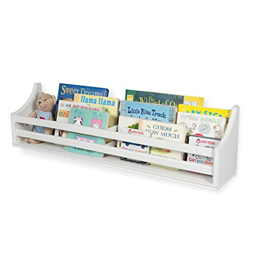 Childrens Wood Wall Mounted Floating Shelf 30