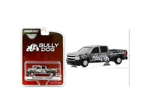 New DIECAST Toys CAR Greenlight 1:64 Hobby Exclusive - 2018 Chevrolet Silverado - Bully Dog 30084 from New Greenlight