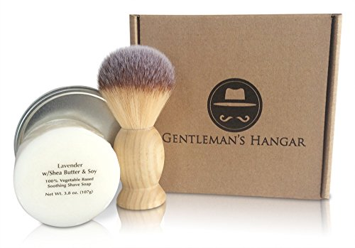 Gentleman's Hangar Men's Vintage Shaving Soap Kit