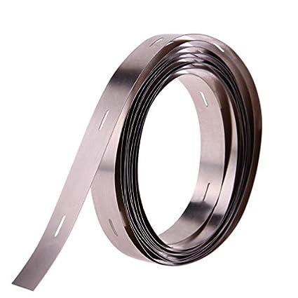 2m Cinta de tira de níquel 0.15x10 mm Ni placa de tira de níquel para