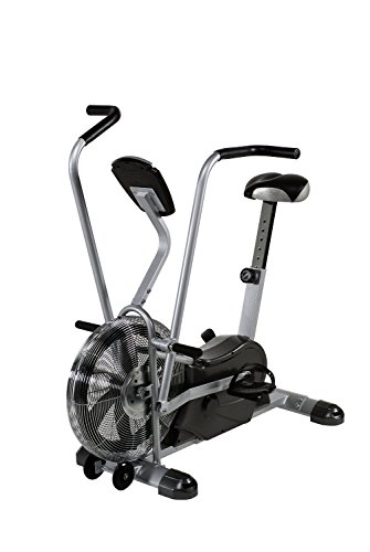Marcy Exercise Upright Fan Bike for Cardio Training and Workout AIR 1