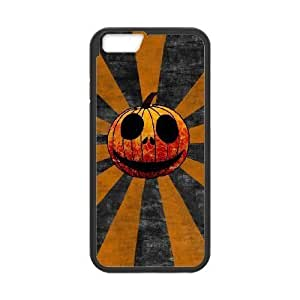 iphone6 plus 5.5 inch Black phone case Halloween Pumpkin The best gift DVE3538533