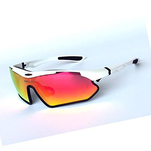 en Negro Gafas Rojas Montar el rebanadas Revo Bicicleta Protección de REVO Wfkjj Gafas frame de de al Black Aire UV Gafas Sol Blanco Montar red Bicicleta Superior Libre en g5RBdRHWP