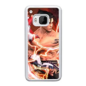 HTC One M9 Cell Phone Case White Tekken 5 Jin Kazama AS7YD3561819