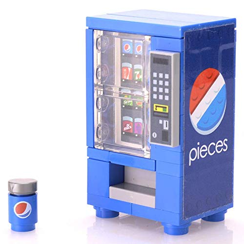 - LEGO Custom Pieces Soda Vending Machine Set