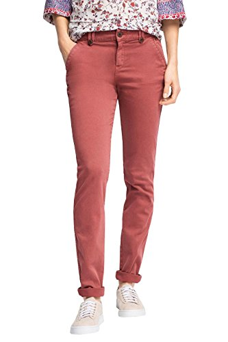 edc by Esprit Mit Stretch - Pantalones Mujer Rojo (BERRY RED 625)