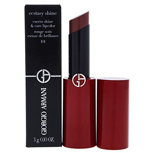 (Giorgio Armani Ecstasy Shine Lipstick, 101 Nuda, 0.1 Ounce)