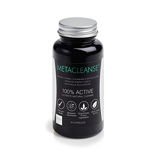 Metacleanse Detox Supplement 80 Capsules, a revolutionary new detox system – the perfect way to kick start a weight loss programme (80 Capsules)