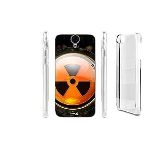 FUNDA CARCASA TOXIC ARANCIO PARA HTC ONE E9 PLUS