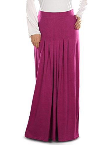 le Musulman Jupe Munisa Vtements Femmes maillot Magenta longue MyBatua de WCC1rB