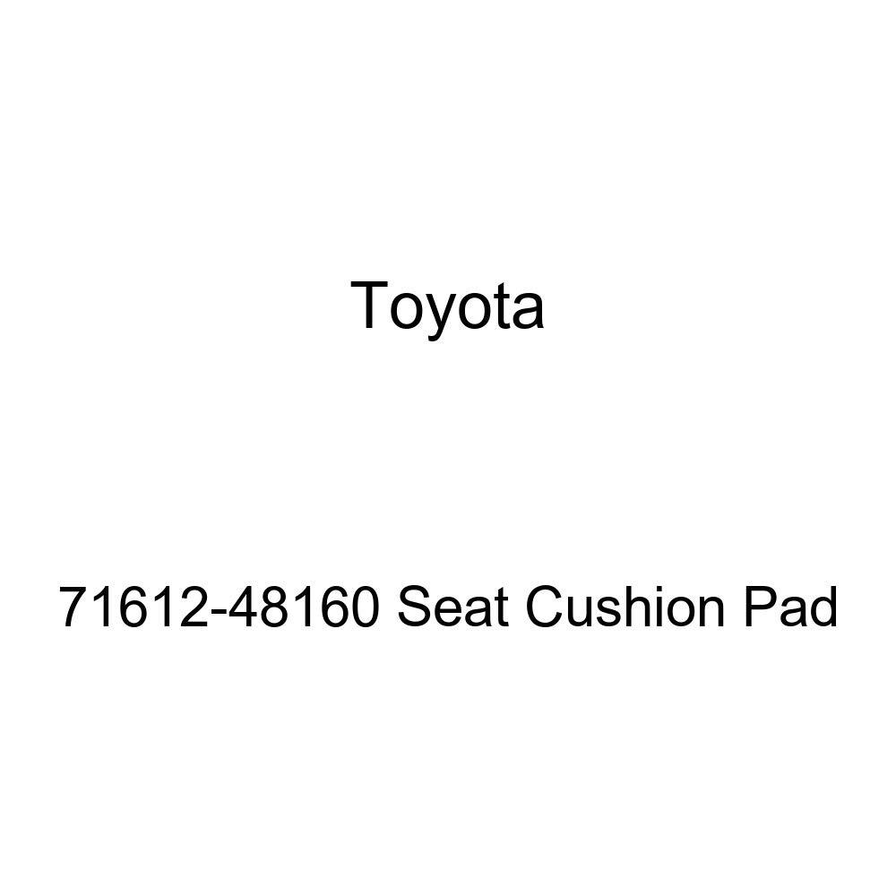 Toyota Genuine 71612-48160 Seat Cushion Pad