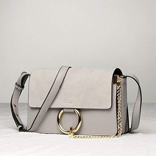 Shoulder B Bag Fashion Female Leather Scrub Single Messenger Hongge Girl 4qTUWRnX