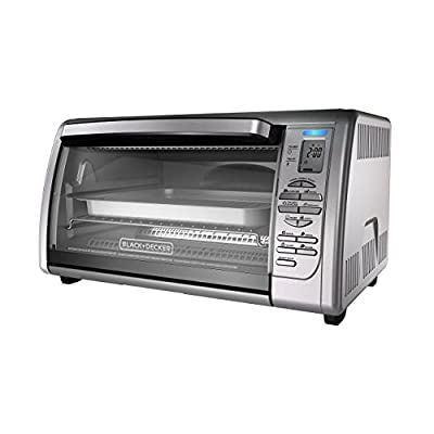 BLACK+DECKER Toaster Oven (Certified Refurbished)