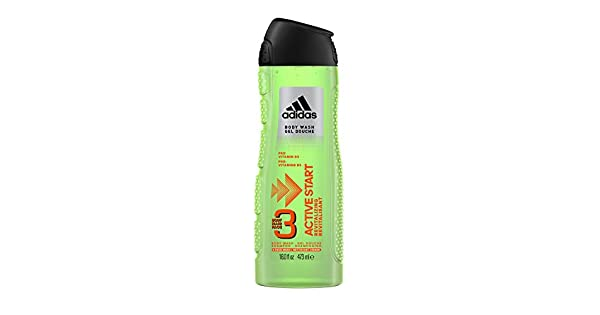 Amazon.com: Adidas Masculino Cuidado Personal 3 en 1 Body ...