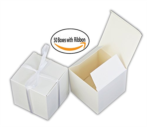 Small Gift Boxes Party Favor Box White (3