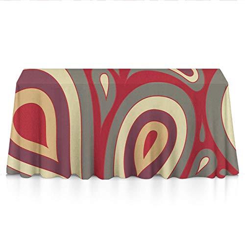 GOAEACH Premium Dust-Proof Table Cloth, Square & Rectangular