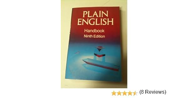 Plain english handbook walsh 9780800930233 amazon books fandeluxe Choice Image