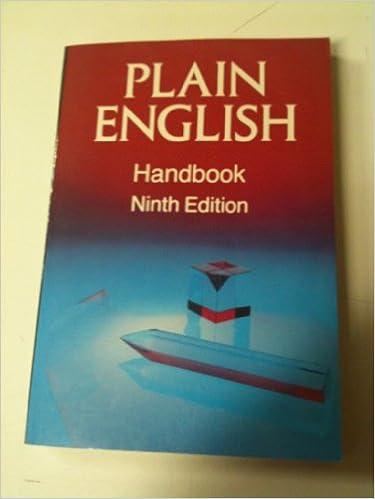 Plain english handbook walsh 9780800930233 amazon books plain english handbook 9th edition fandeluxe Choice Image