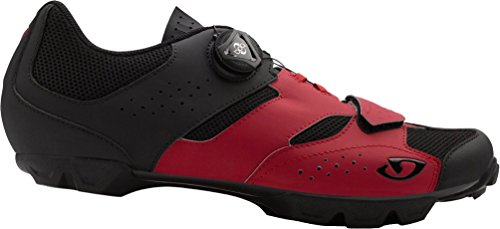 Giro Cylinder Cycling Shoes - Men's Dark Red/Black 45
