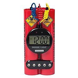 Dynamite Alarm Clock - Novelty, Wacky & Fun Alarm Clock