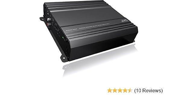 JVC KS-AX201 500W Max AX2 Series Class AB Monoblock Amplifier