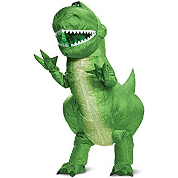 Amazon.com: Rubies Jurassic World T-Rex Inflatable Childs ...