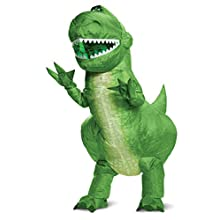 Disguise Toy Story 4 Rex Inflatable Child Costume