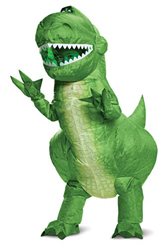 Toy Story 4 Rex Inflatable Child Costume Green