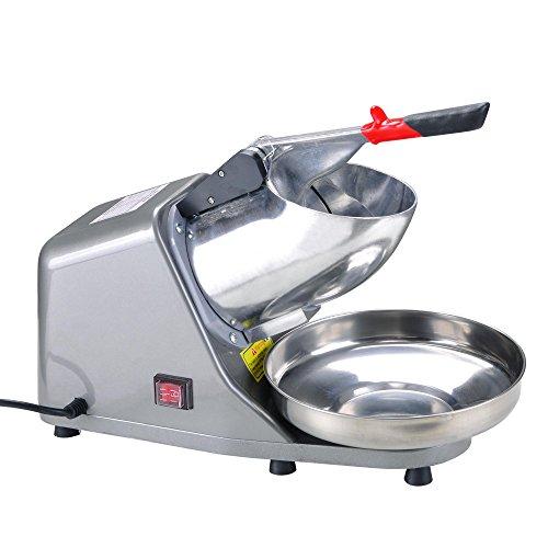 (Yescom 300W Electric Ice Shaver Snow Cone Maker Shaving Crusher Machine 1450 r/min 143 lbs/hr)