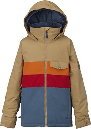 Apparel Burton Insulated Jackets (Burton Symbol Insulated Jacket - Boys' Kelp Block, L)