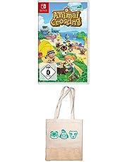 Animal Crossing: New Horizons [Nintendo Switch] + Animal Crossing New Horizons Spiel + Tragetasche