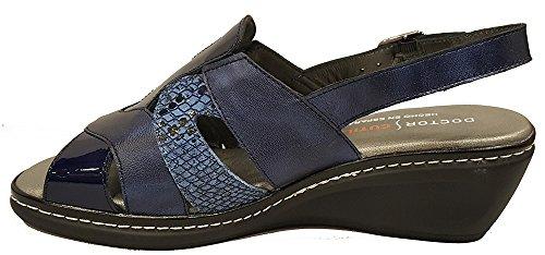 DOCTOR CUTILLAS - Sandalia cómoda piso confort - Azul Marino - 32095