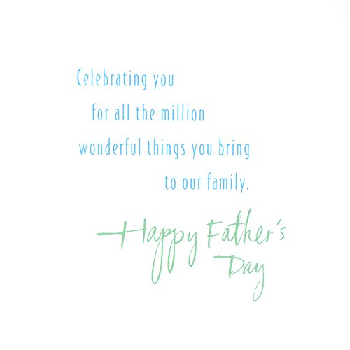 Hallmark Father's Day Greeting Card for Family Member or Relative (Good Man and Great Father) Photo #5