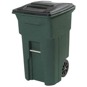 Amazon Com 35 Gallon Black Heavy Duty Outdoor Trash Can