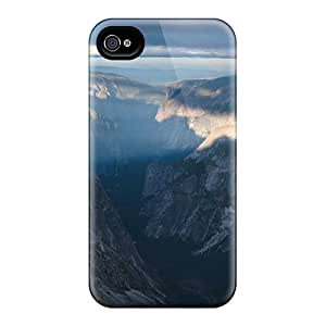 Tough Iphone EzlAHiI6805YYRyd Case Cover/ Case For Iphone 4/4s(nature Mountains Canyon)
