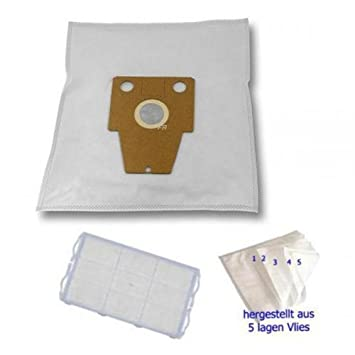 VS57E81//06-09 bag /& bagless 10 Staubbeutel Staubsaugerbeutel Siemens