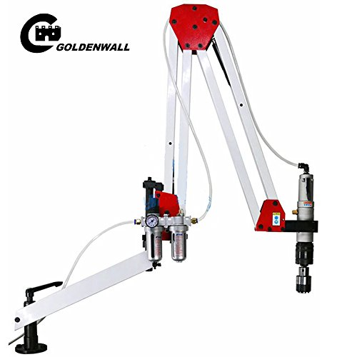 M5-M24 Automatic Pneumatic Tapping Machine Air Tapper Tool With Working Reach 1900MM (ISO CHUCKS) by CGOLDENWALL
