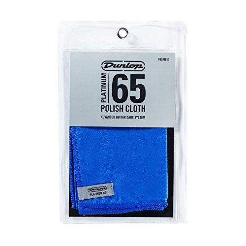 Dunlop P65MF12 Platinum 65 Suede Microfiber (65 String Cleaner)