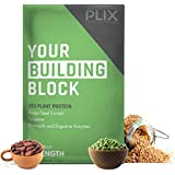 The Plant Fix - Plix Strength Vegan Post Workout Plant Protein, Chocolate Flavour, Antioxidants, Digestive Enzymes, 25 Grams Plant Protein Plant Prote at amazon