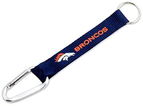 NFL Officially Licensed Carabiner Lanyard Keychain (Denver Broncos)