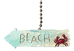 Beach Arrow Fan Pull Decorative Light Chain
