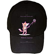 How To Make Animals Cooler Fox Medievil Funny Randy Otter - 100% Adjustable Cap Hat