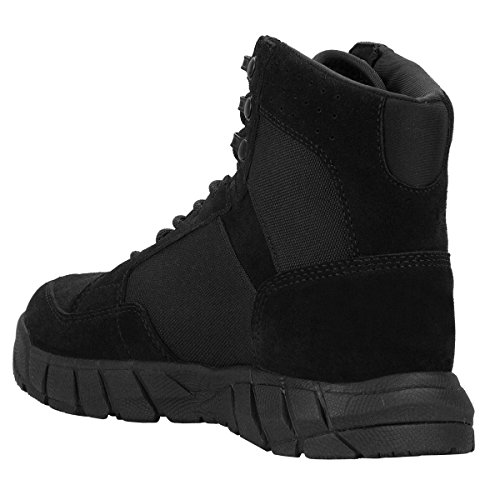 FREE SOLDIER Men's 6 inch Lightweight Boots Tactical Military Urban Composite Toe Desert Tan Boot(Black 10 D(M) US) by FREE SOLDIER (Image #2)